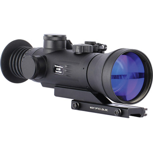 Night Optics D-750 Gen 3 Gated 4x NV Riflescope