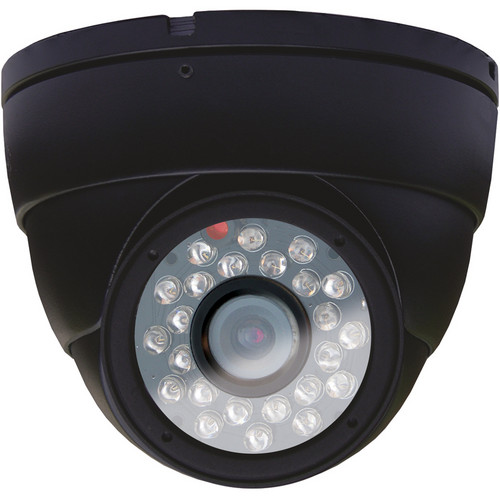 Night Owl CCD Indoor Dome Camera with Audio (Black)