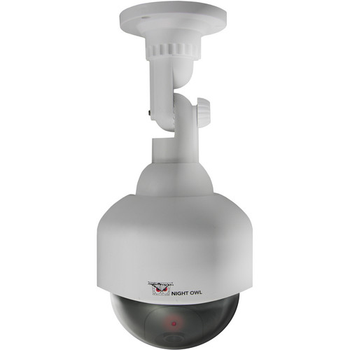 Night Owl Decoy PTZ Camera with Flashing LED (White)