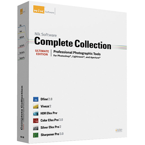 Nik Software Complete Collection Software Plug-in for Photoshop, Lightroom, and Aperture