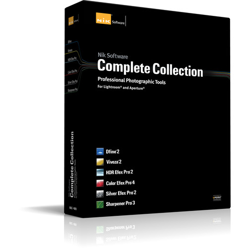Nik Software Complete Collection Software Plug-in for Lightroom and Aperture