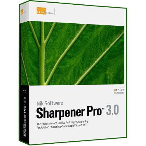 Nik Software Sharpener Pro 3.0 Software Plug-in for Mac and Windows