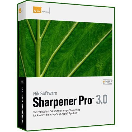 Nik Software Sharpener Pro 3.0 Software Plug-in for Mac and Windows