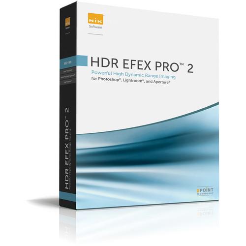 Nik Software HDR Efex Pro 2 Software (Academic License)