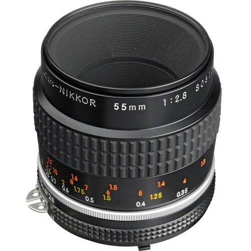Nikon Micro-NIKKOR 55mm f/2.8 Lens