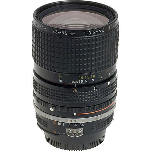 Nikon Zoom Wide Angle-Telephoto 28-85mm f/3.5-4.5 AIS Manual Focus Lens