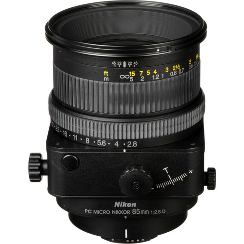 Nikon Telephoto PC Micro Nikkor 85mm f/2.8D Manual Focus Lens