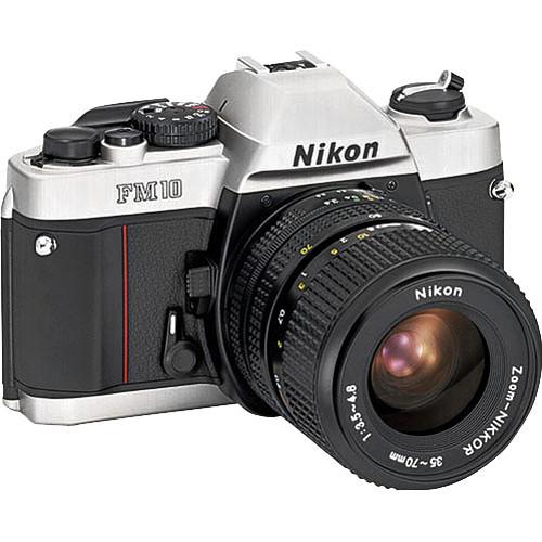 Nikon FM10 35mm SLR Camera with 35-70mm Lens