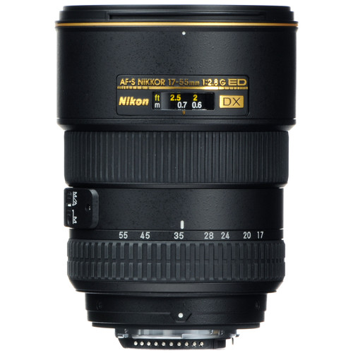 Nikon AF-S DX Zoom-NIKKOR 17-55mm f/2.8G IF-ED