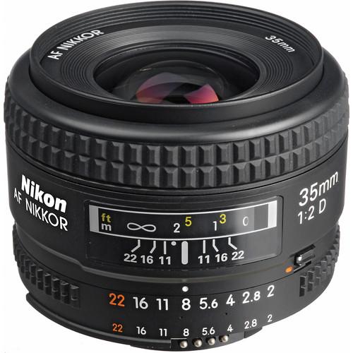Nikon Wide Angle 35mm f/2 D AF Lens