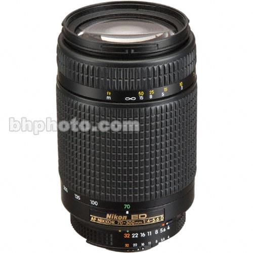 Nikon 70-300mm f/4-5.6 D-AF ED LENS