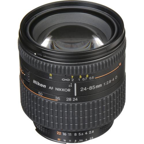 Nikon AF Zoom-NIKKOR 24-85mm f/2.8-4D IF Lens