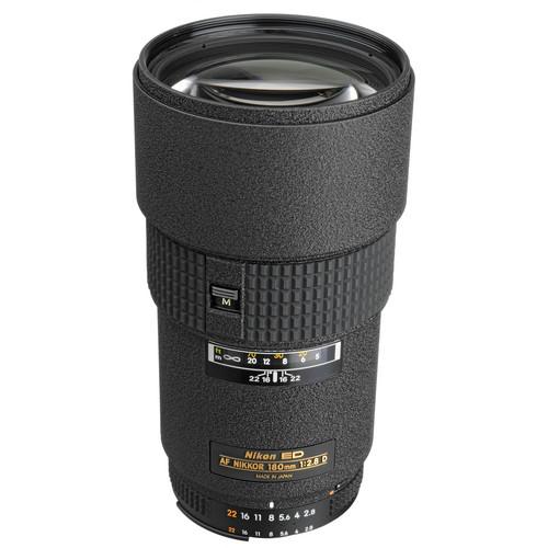 Nikon AF NIKKOR 180mm f/2.8D IF-ED Lens (Refurbished by Nikon USA)