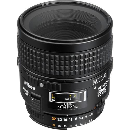 Nikon AF Micro-NIKKOR 60mm f/2.8D Lens