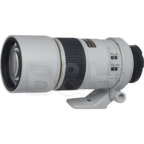 Nikon Telephoto AF-S Nikkor 300mm f/4.0D ED-IF Autofocus Lens - Light Grey