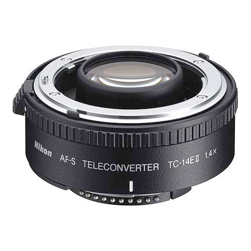 Nikon TC-14E II 1.4x Teleconverter for D-AF-S & AF-I Lenses ONLY
