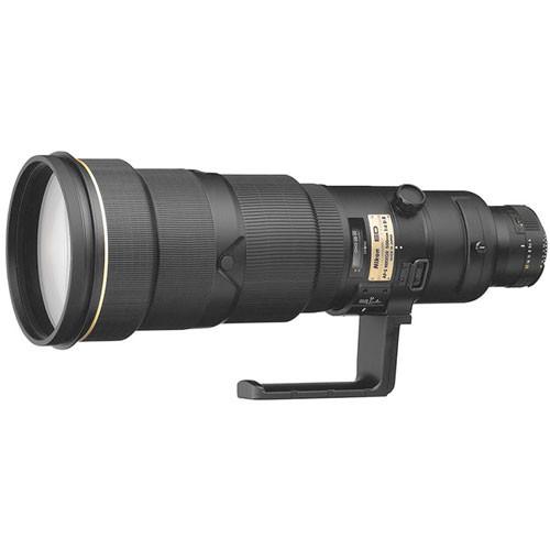 Nikon Telephoto AF-S Nikkor 500mm f/4D ED-IF II Autofocus Lens - Black