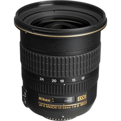 Nikon AF-S DX Zoom-NIKKOR 12-24mm f/4G IF-ED Lens (Refurbished by Nikon USA)