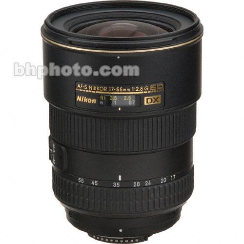 Nikon AF-S DX Zoom-NIKKOR 17-55mm f/2.8G IF-ED Lens (Refurbished)