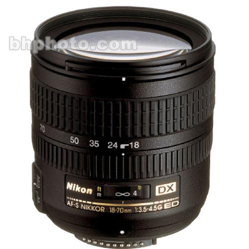 Nikon AF-S DX Zoom-NIKKOR 18-70mm f/3.5-4.5G IF-ED Lens (Refurbished)