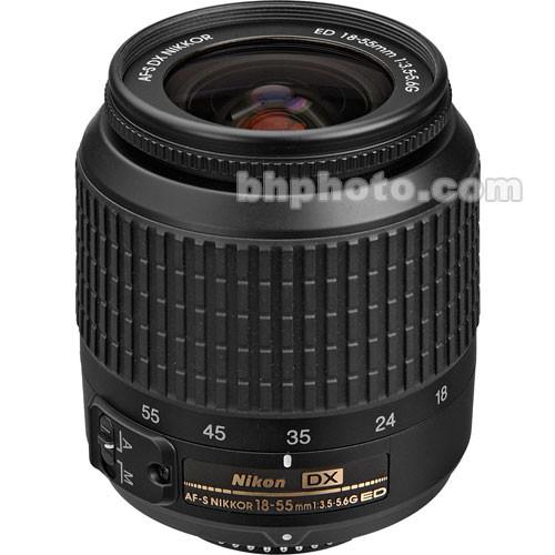 Nikon 18-55mm f/3.5-5.6G ED AF-S DX Lens