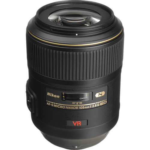 Nikon AF-S VR Micro-NIKKOR 105mm f/2.8G IF-ED Lens (Refurbished)