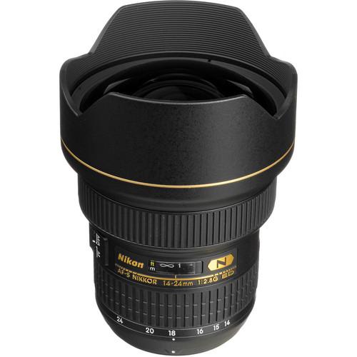 Nikon AF-S NIKKOR 14-24mm f/2.8G ED Lens (Refurbished)