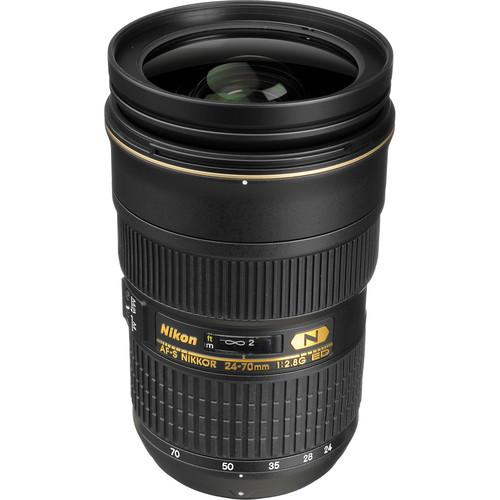 Nikon AF-S NIKKOR 24-70mm f/2.8G ED Lens (Refurbished by Nikon USA)