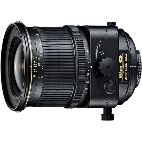 Nikon PC-E NIKKOR 24mm f/3.5D ED Tilt-Shift Lens (Refurbished)