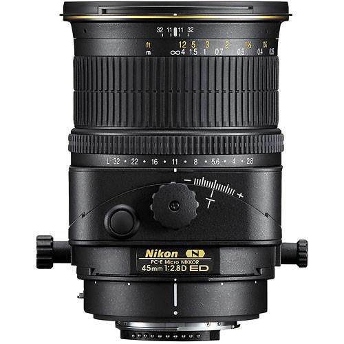 Nikon PC-E Micro-NIKKOR 45mm f/2.8D ED Tilt-Shift Lens (Refurbished)