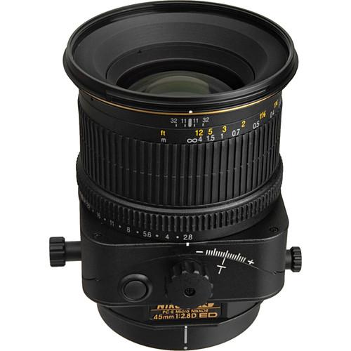 Nikon PC-E Micro-NIKKOR 45mm f/2.8D ED Tilt-Shift Lens