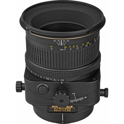 Nikon PC-E Micro-NIKKOR 85mm f/2.8D Tilt-Shift Lens