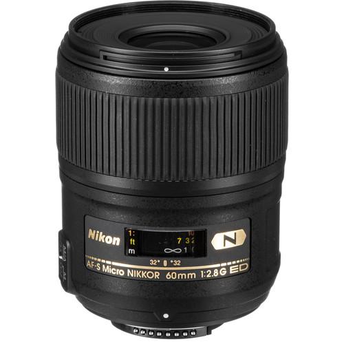 Nikon AF-S Micro NIKKOR 60mm f/2.8G ED Lens (Refurbished)