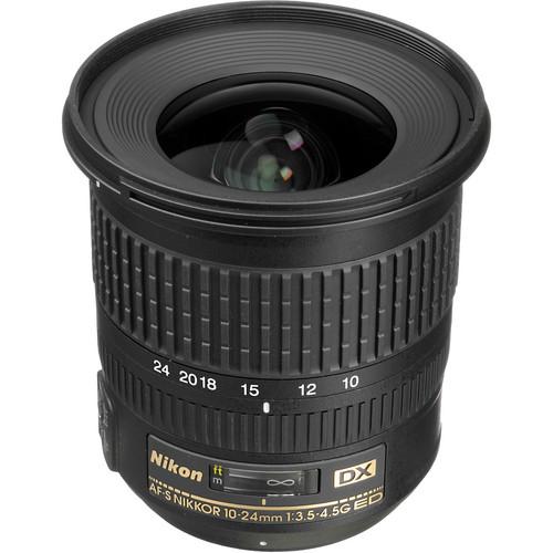 Nikon AF-S DX NIKKOR 10-24mm f/3.5-4.5G ED Lens (Refurbished)