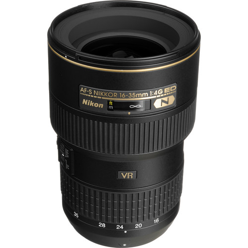 Nikon AF-S NIKKOR 16-35mm f/4G ED VR Lens (Refurbished)