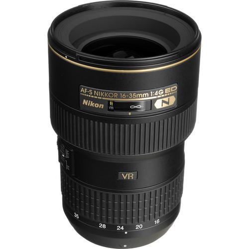 Nikon AF-S NIKKOR 16-35mm f/4G ED VR Lens (Refurbished)