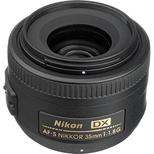 Nikon AF-S DX NIKKOR 35mm f/1.8G Lens (Refurbished)
