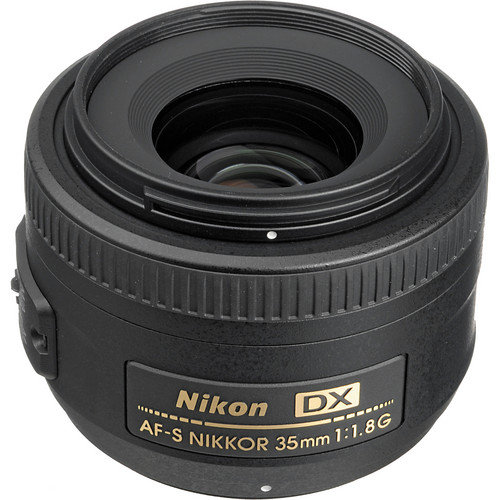 Nikon AF-S DX NIKKOR 35mm f/1.8G Lens (Refurbished)