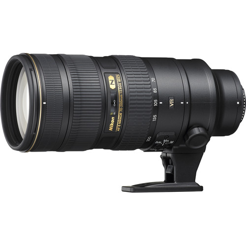 Nikon AF-S NIKKOR 70-200mm f/2.8G ED VR II Lens (Refurbished)