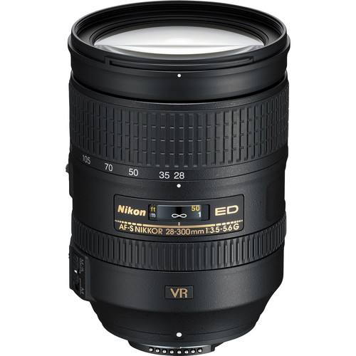 Nikon AF-S NIKKOR 28-300mm f/3.5-5.6G ED VR Lens (Refurbished)