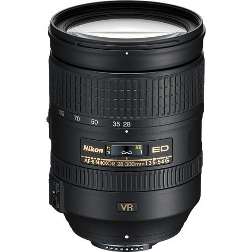 Nikon AF-S NIKKOR 28-300mm f/3.5-5.6G ED VR Lens (Refurbished)