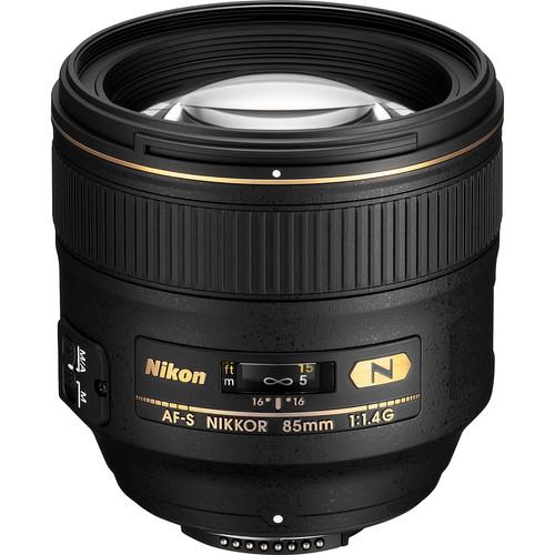 Nikon AF-S NIKKOR 85mm f/1.4G Lens (Refurbished)