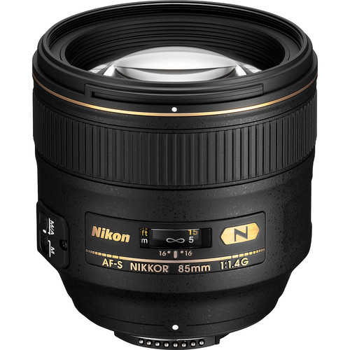 Nikon AF-S NIKKOR 85mm f/1.4G Lens (Refurbished by Nikon USA)
