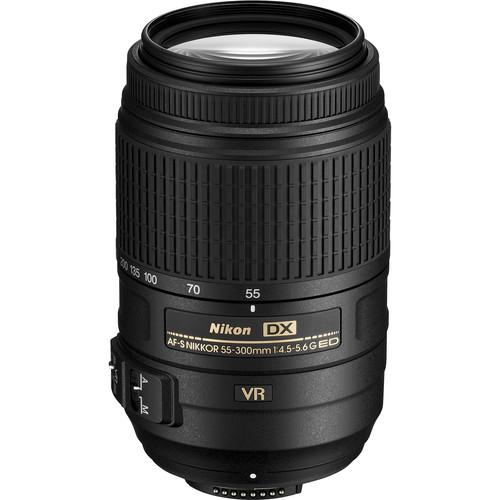 Nikon AF-S DX NIKKOR 55-300mm f/4.5-5.6G ED VR Lens