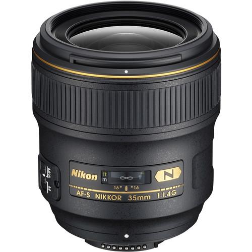 Nikon AF-S NIKKOR 35mm f/1.4G Lens (Refurbished by Nikon USA)