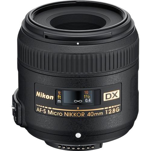 Nikon AF-S DX Micro NIKKOR 40mm f/2.8G Lens (Refurbished by Nikon USA)