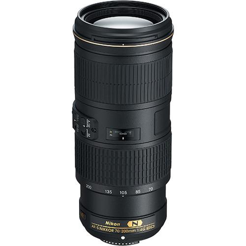 Nikon AF-S NIKKOR 70-200mm f/4G ED VR Lens