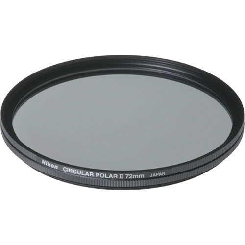 Nikon 72mm Circular Polarizer II Filter
