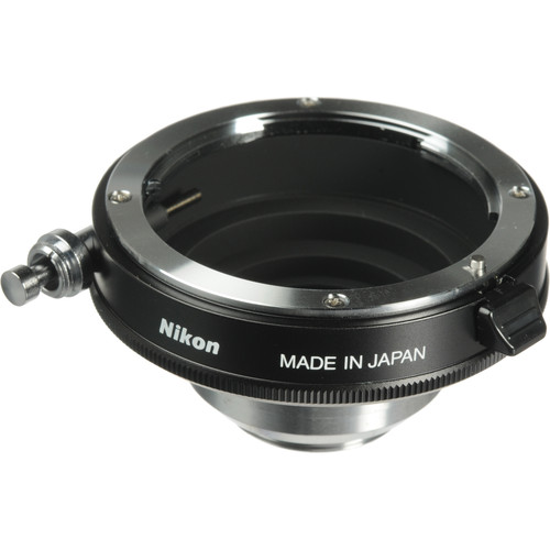 Nikon F to-C Lens Mounting Adapter - C-Mount Adapter for Nikon Lens