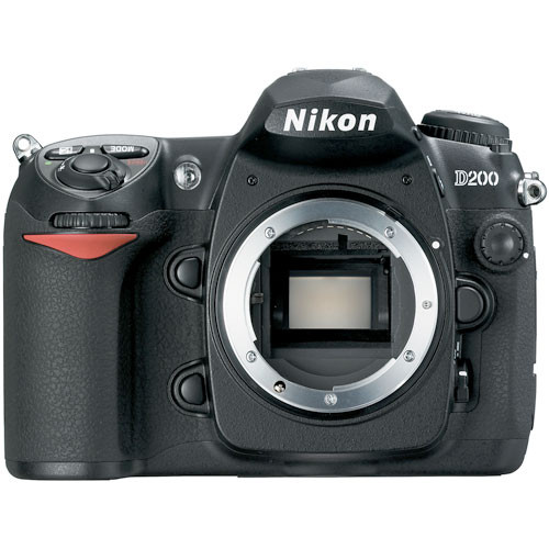 Nikon D200 SLR Digital Camera (Camera Body)